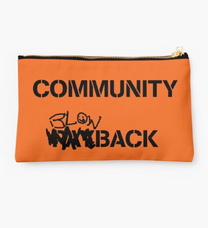 Community Payback Studio Pouch