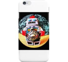 Fisheye robot iPhone Case/Skin