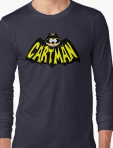 Cartman 1960's Logo Mashup Long Sleeve T-Shirt