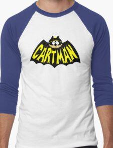 Cartman 1960's Logo Mashup Men's Baseball ¾ T-Shirt