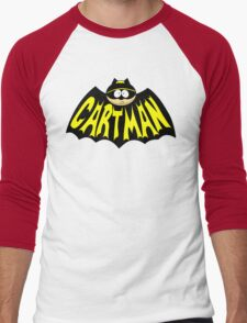 Cartman 1960's Logo Mashup Men's Baseball ¾ T-Shirt