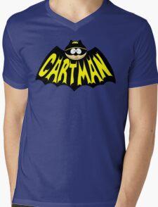 Cartman 1960's Logo Mashup Mens V-Neck T-Shirt