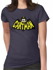 Cartman 1960's Logo Mashup Womens Fitted T-Shirt