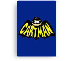 Cartman 1960's Logo Mashup Canvas Print