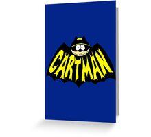 Cartman 1960's Logo Mashup Greeting Card