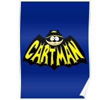 Cartman 1960's Logo Mashup Poster