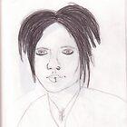 DJ Ashba Sketch.  by RLMcQueen