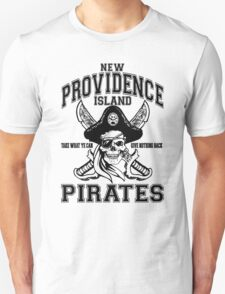 New Providence Island Pirates Unisex T-Shirt