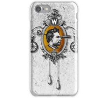 The Watchmaker (white version) iPhone Case/Skin