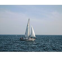 Salling in Lake Ontario... Photographic Print
