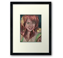 What are you drawing Ryan 165 Framed Print