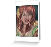What are you drawing Ryan 165 Greeting Card