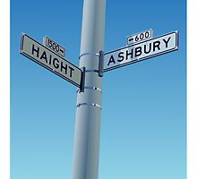 Haight-Ashbury by William Fehr