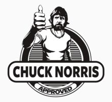 Chuck Norris Approved by Alpha-Attire