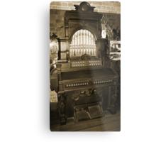 Old Pipe Organ Metal Print