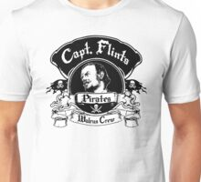 Captain Flints Pirates - Walrus Crew Unisex T-Shirt