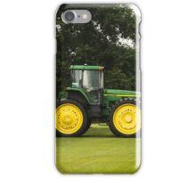 Big Green Tractor  iPhone Case/Skin