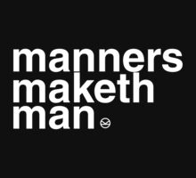 Kingsman: Manners Maketh Man Kids Clothes