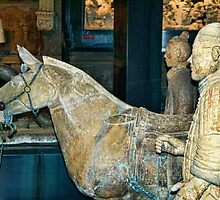 Chinese Terracotta Warriors a Long Way from Home by BRENDA KEAN
