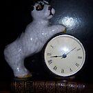 My Love of Dogs Clock by DottieDees