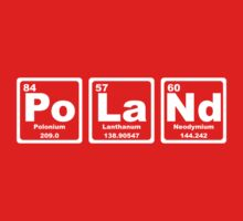 Poland - Periodic Table by graphix