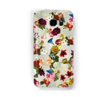 Flowery (white version) Samsung Galaxy Case/Skin