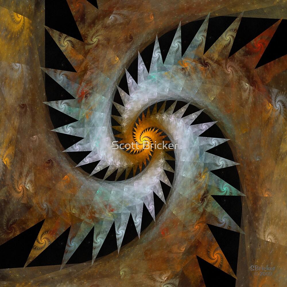 'Origami Spiral Universe' by Scott Bricker