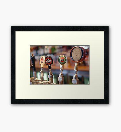 Pub! Framed Print