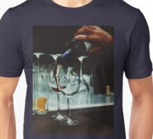 Drinks bar in party xpro cross processed c41 slide film analog photograph Unisex T-Shirt