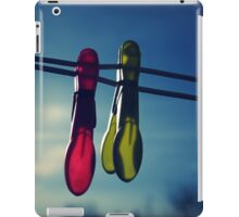 The two pegs iPad Case/Skin