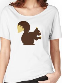 Comic squirrel Women's Relaxed Fit T-Shirt