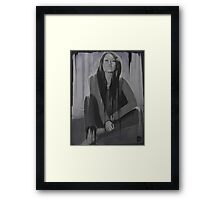 What are you drawing Ryan 174 Framed Print