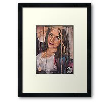What are you drawing Ryan 177 Framed Print