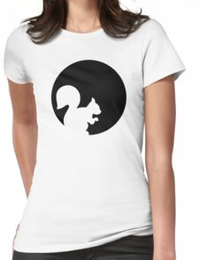 Squirrel moon Womens Fitted T-Shirt