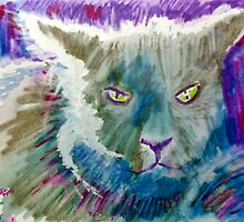 Beware a Cat Bearing a Grudge by Seth  Weaver