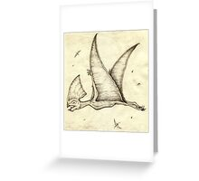 The Super Pterosaur Greeting Card