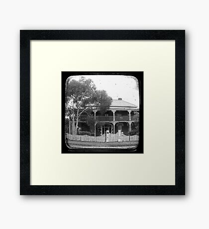 Country House Through The Viewfinder (TTV) Framed Print
