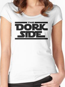 The Dork Side Women's Fitted Scoop T-Shirt