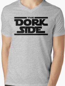 The Dork Side Mens V-Neck T-Shirt