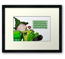 Irish Wish Framed Print