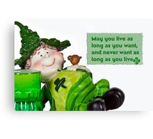Irish Wish Canvas Print