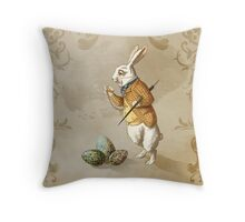 Time for Easter Throw Pillow