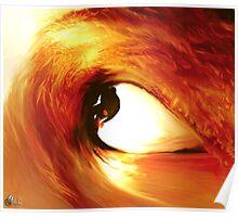 Eye wave Poster