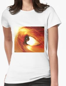 Eye wave Womens Fitted T-Shirt