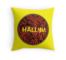 Hallyu - Yellow Throw Pillow