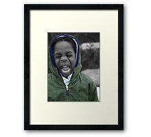 SCREAM!!!! Framed Print