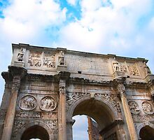 The Triumphal Arch of Constantine by BRENDA KEAN
