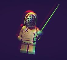 Lego fencer by MBradders