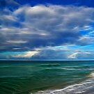 Sea in Fractalius by Sandy Keeton