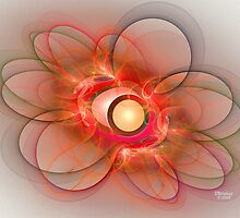 'Light Flame Abstract 116' by Scott Bricker